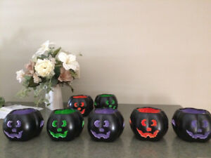 Halloween Ceramic Pumkins New
