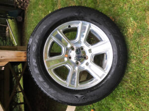 Dodge Ram Truck Rims and Tires 20""