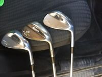Mizuno MPT wedges 51, 56 and 60 degree