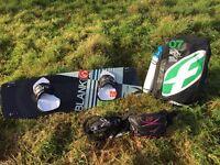 Complete kitesurfing setup - as new