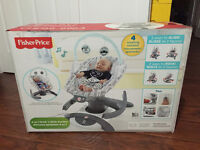 ((Unopened)) Fisher Price 4 in 1 Rock'nGlide Soother (NEW)