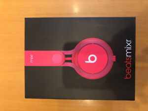 Mixr Beats by Dr. Dre Headphones Pink