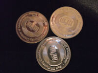 3 fort mcmurray dollar collector coins