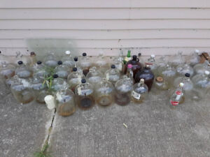 Various Glass Jugs