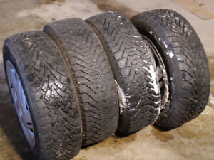 Goodyear Nordic Ice Tires 185/65R14