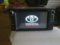 toyota special fit navigation bluetooth dvd player