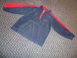 Boys Size 5 Fleece Nevada Mockneck Sweater