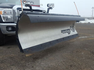 Snow Dogg MD 80 - 8ft Plow and hydraulics