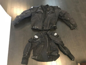 Women's and Men's Motorcycle Jackets