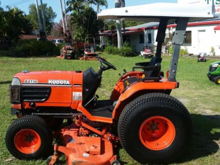 """Kubota B2710 HST 4x4 tractor with 60"""" mid mount mower  Oxenford Gold Coast North Preview"""