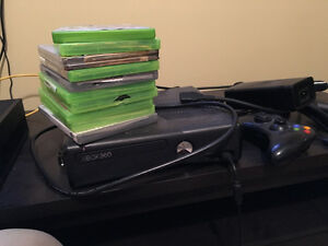XBOX 360 FOR SALE PLUS 10 GAMES