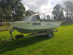 Quintrex Runabout fishing Boat/Tinny