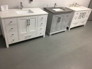 "Bathroom Vanities Sale!!!( 36"",48"",60""double sink)"