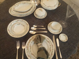 Beautiful Antique Limoges China Set