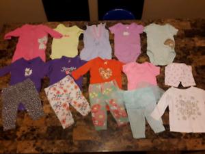 Lot de vêtements pour fille 3 mois