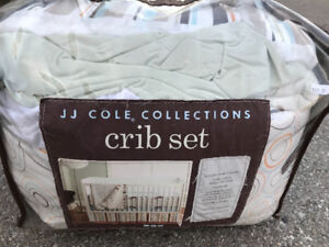 Baby Crib Bedding Cotton 4 Piece Set JJ Coles Collection
