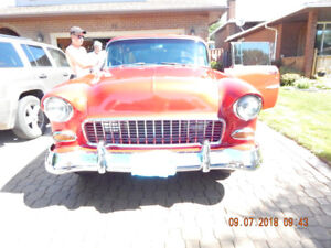 1955 chevy bel air 2 door hard top