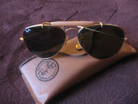 Ray-Ban Outdoorsman Aviator Sunglasses with Wire Wrap Ears