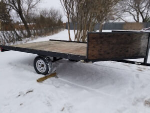 Drive on Drive off trailer