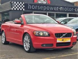 2008 Volvo C70 2.4 i SE Lux Geartronic 2dr Petrol red Automatic
