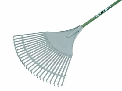 Evergreen Plastic Leaf Rake Aluminium Shaft BUL7128