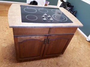 Wall Oven, Cook Top, Downdraft Vent. Located in Chase BC