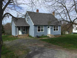 HOUSE FOR SALE by owner, near Windsor, NS  (989 Belmont Road)