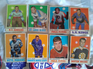 For sale \ trade a variety of vintage hockey cards 1970_71 opc