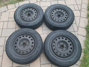 Toyo GSi-5 winter tires and rims: 205/65/R16