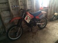 Honda 250 2 stroke dirt bike for sale