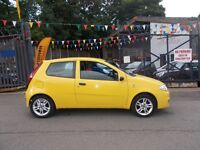 Fiat Punto 1.2 ACTIVE SPORT CAM BELT CHANGED (yellow) 2005