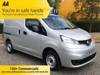 2012 Nissan NV200 1.5dCi SE 110bhp [ 4x Dog Cages ] Low Mileage Twin SLD A/C