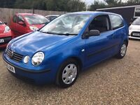 Volkswagen Polo 1.2 S 3dr 2005 * HPI CLEAR * CHEAP INSURANCE * IDEAL FIRST CAR* FULL SERVICE HISTORY