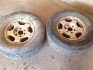 Set of 4 6 bolt rims
