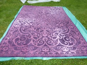 Brand New Oriental Style Wine Berry Large Area Rug - 7'x10'