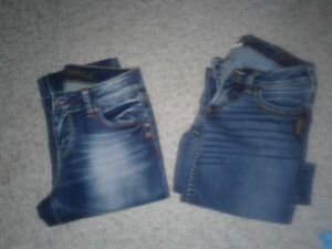 Silver and Buffalo jeans