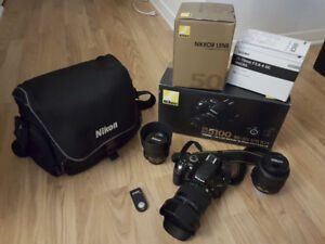 Nikon D5100 DSLR + Sigma 17-70mm f/2.8-4 + Nikon 50 f/1.8G + kit