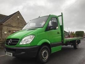 2009 MERCEDES-BENZ SPRINTER 2.1 CDI 313 FLATBED LWB