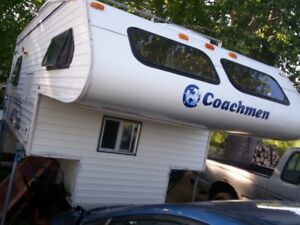 Coachman full size 11.5' truck camper/also car tow dolly