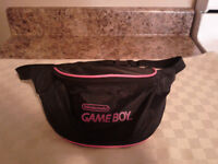 Vintage Nintendo Game Boy Hip Pouch Carrying Case-Like New
