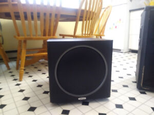 15 inch kustom PA speakers and 10inch powered sub