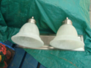 Two Vanity Lights -- $20 for both
