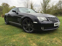2004 Chrysler Crossfire 3.2 auto BLACK BEAUTY, GREAT LOOKING CAR HPI CLEAR