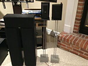 Boston acoustics surround sound speakers