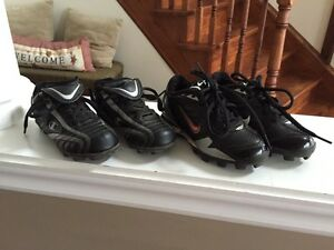 Boys size 10 cleats