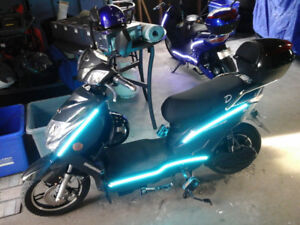 2018 Daymak Chameleon electric scooter, brand new.