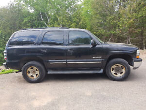 2001 Tahoe,  Great for towing, may trade for right BOAT