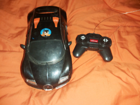 remote control car batman Batteries not included Fully working