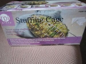 Poultry Stuffing Cage, New