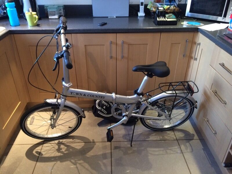 Brand New Costco Town Country Folding Push Bike In Liverpool